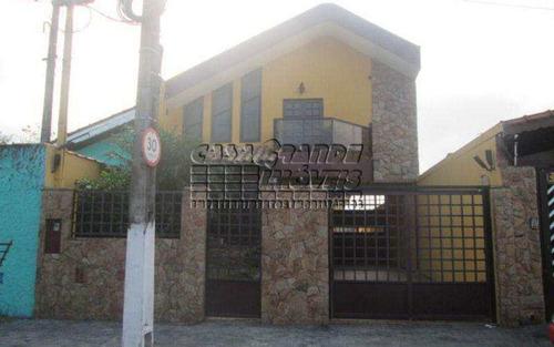 Imagem 1 de 19 de Excelente Casa Em Praia Grande, Vila Caiçara - V5129
