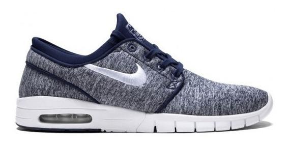 Zapatillas Nike Sb Stefan Janoski Max 405 Bluevoid Tela