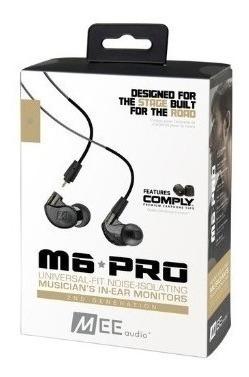 Fone In-ear Mee Audio M6 Pro Retorno Preto