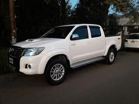Toyota Hilux Srv 4x4 3.0 Tdi Full Con Cuero Unico Dueño