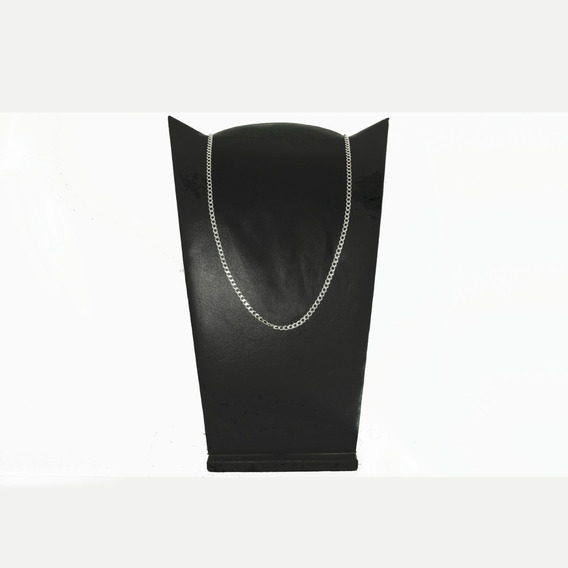 Corrente Cordão Italiano Masculino Grumet 60cm5mm Prata 925