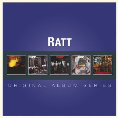 Ratt Original Album Series Cd De Import