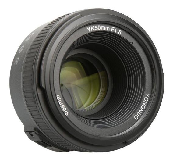 Lente Yongnuo 50mm F1.8 Nikon Envio Inmediato