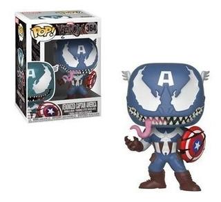 Venomized Capitán América Funko Pop Venom Marvel Pelicula