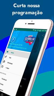 App Para Rádio Web Com What + Rede Sociais + Playstore