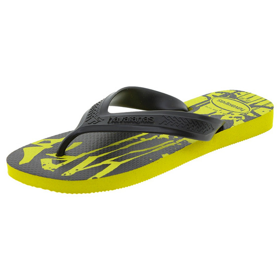 Chinelo Masculino Top Max Street Amarelo Havaianas - 4140284