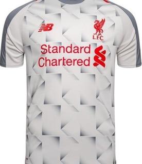 Camisa Liverpool Vermelha 18/19 Finalista Da Liga