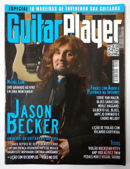 Revista Guitar Player N° 196 Ano 17 Jason Becker Van Halen