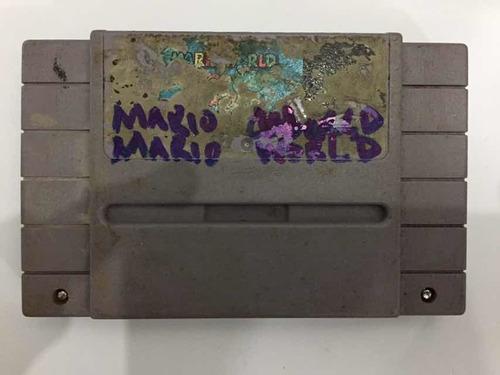 Imagen 1 de 1 de Mario World Súper Nintendo