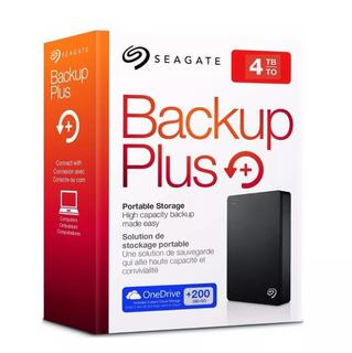 Disco Rigido Externo Seagate 4tb Backup Plus Usb 3 Ps4 Pce