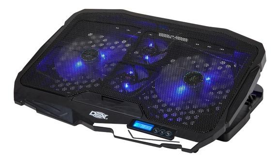 Suporte Gamer Dex Notebook 4 Coolers Até 17.3 Dx006 !oferta!