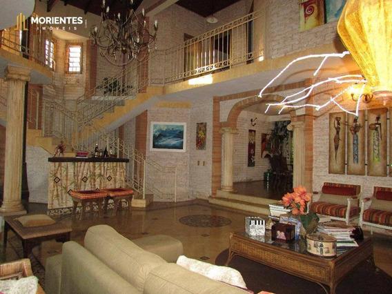 Casa Residencial À Venda, Chácara Malota, Jundiaí. - Ca0011