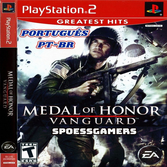 Medal Of Honor Vanguard Ps2 Português Patch