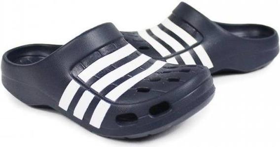 Sandalias Ojotas adidas Duramo Clog Color Negro Crocs