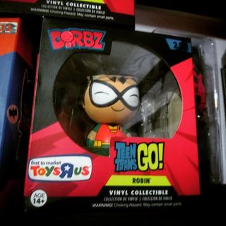Funko Dorbz Robin Teen Titans Go Edición Especial