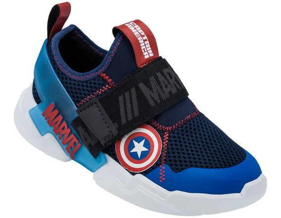 Tenis Infantil Capitão America Marvel 22193