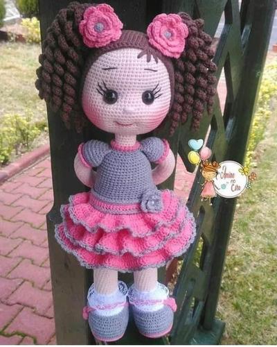 Patrones Hermosas Muñecas Amigurumis Crochet