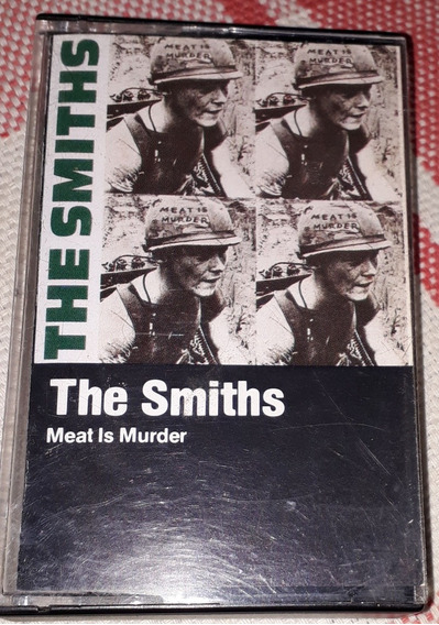 Fita Cassete The Smiths. Meat Is Muder