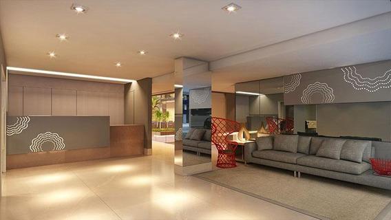Flat Com 1 Dormitório À Venda, 47 M² Por R$ 376.194 - Tambaú - João Pessoa/pb - Fl0096