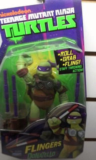 Tortugas Ninja Donatello Flingers 15cm Envios Sin Cargo Caba