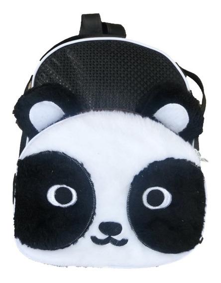 Mochila Panda Preto E Branco Mochila De Bebê - Infantil - G