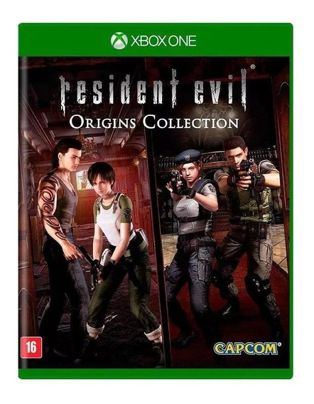 Resident Evil Origins Collection Xbox One Físico Lacrado Rj