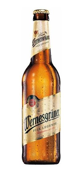 Cerveza Wernesgrüner Importada Alemania 1 Botella De 330ml F