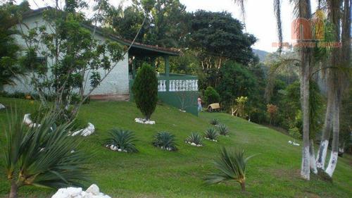 Chácara Com 3 Dormitórios À Venda, 92 M² Por R$ 500.000,00 - Parque Dos Borges - Embu-guaçu/sp - Ch0162