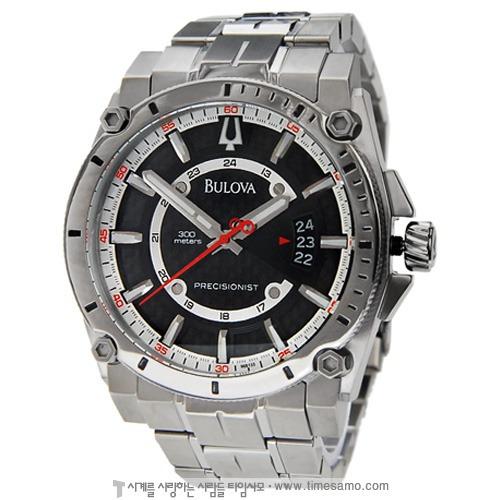 Relógio Bulova Precisionist 96b133 Orig Chron Silver!!!