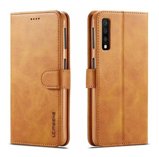 Capa Carteira Flip Galaxy A7 2018 A750 6.0 Fecho Magnético