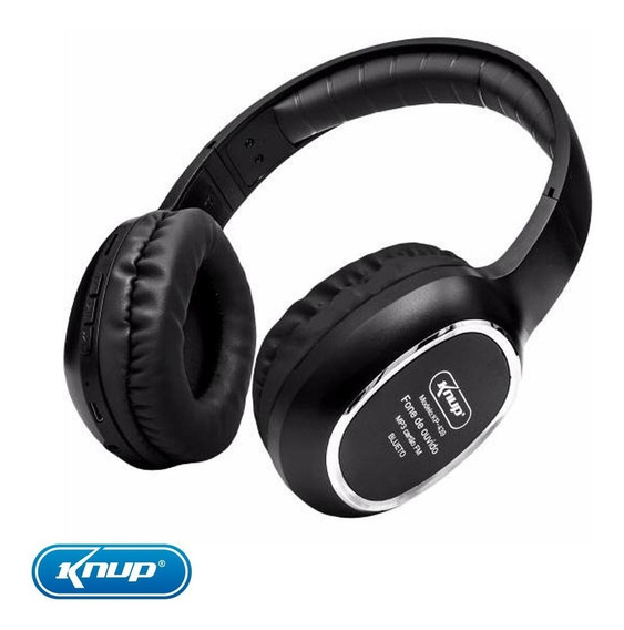 Fone Bluetooth Headphone Estéreo Sem Fio Mp3 Super Bass + Nf