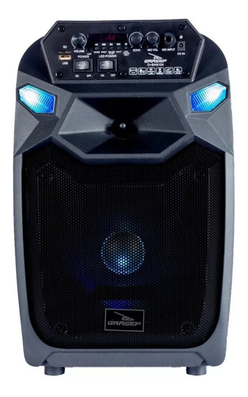 Caixa De Som Com Bluetooth 40w Portátil Rodinhas Fm Usb Mic