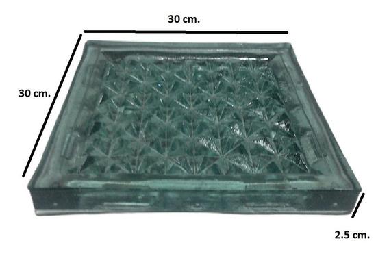 Vitroblock Prismatico Cristal 30x30 Tipo Picos