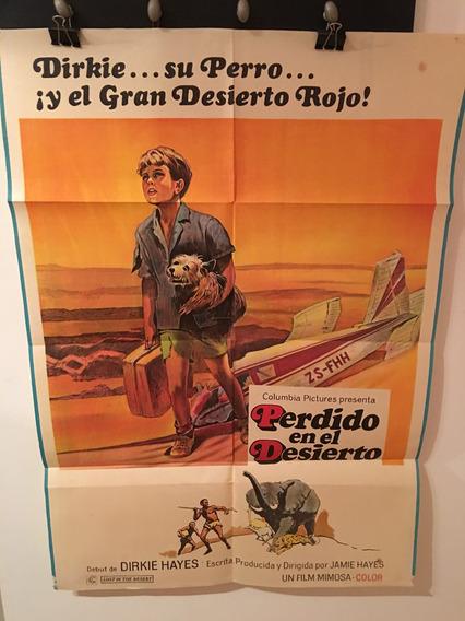 Afiche De Cine Original Perdido En El Desierto Mercado Libre
