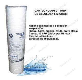 Cartucho De Celulosa Para Filtros Agua De 10 Pulgadas