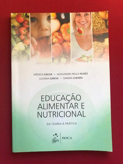 Livro - Educação Alimentar E Nutricional - Ed. Gen - Roca