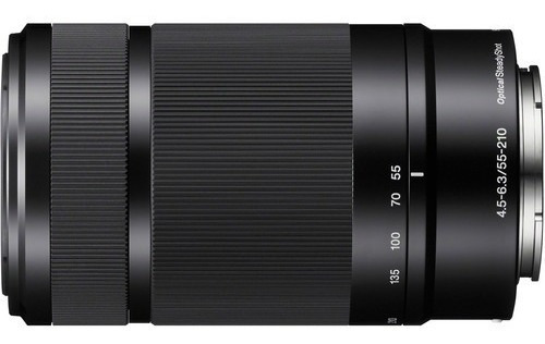Lente Sony E 55-210mm F/4.5-6.3 Oss (sel55210) P A6500 A6300