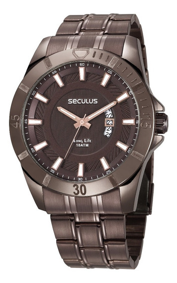 Relógio Seculus Masculino 28960gpsvma1