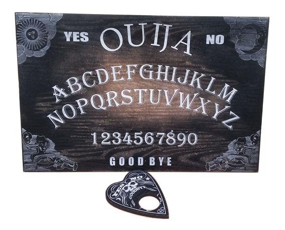Tabuleiro Ouija Black Com Ponteiro