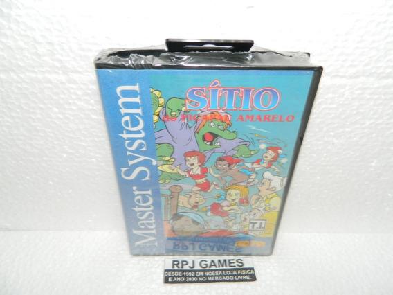 Sitio Do Pica Pau Amarelo Original Lacrado P/ Master System
