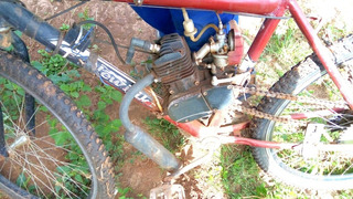 Bicicleta Motorizada Motor 80cc