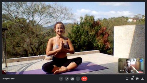 Imagem 1 de 6 de Aula De Yoga Online - Personalisadas - Todos Os Níveis