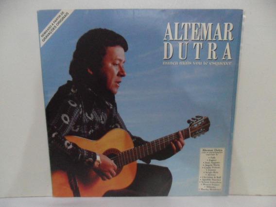 Lp Disco Vinil - Altemar Dutra - Nunca Mais Vou Te Esquecer