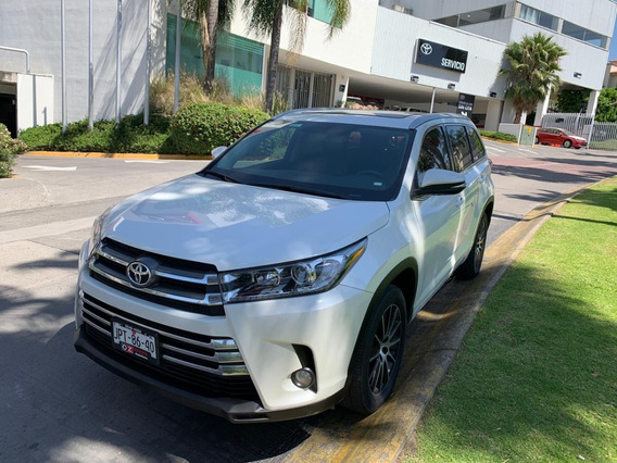 Toyota Highlander Ltd Panoramic Roof 2018 Comonuevo