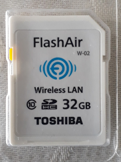Tarjeta Toshiba Sd Con Wifi Flash Air De 32 Gb