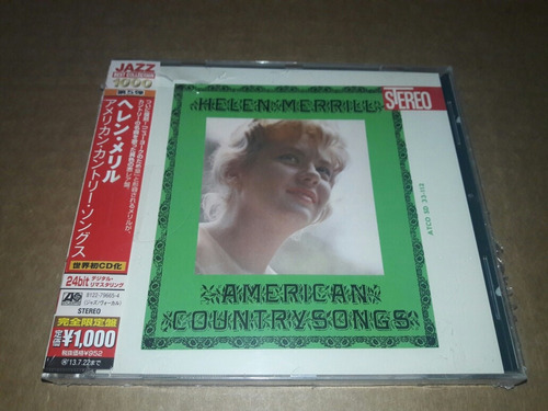 Helen Merrill - American Country Songs (cd)