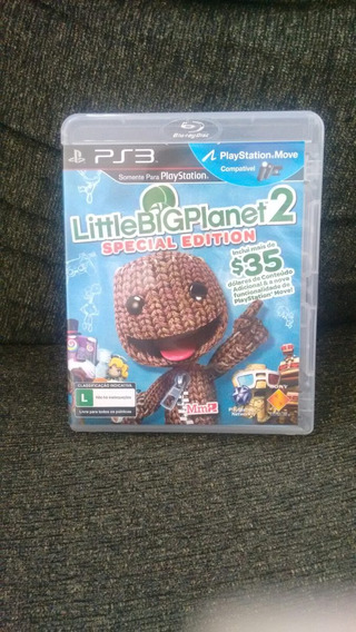 Little Big Planet 2 Ps3 Semi Novo Mídia Física Original