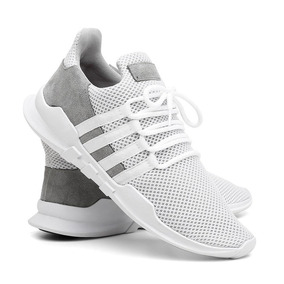 Tênis Masculino Sneaker Corrida Super Leve Conforto -running