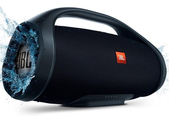 Caixa De Som Portátil Jbl Boombox Bluetooth Black 60w Rms