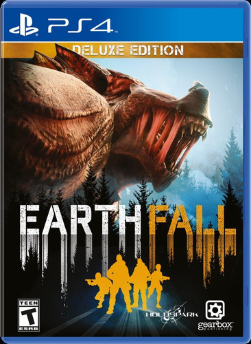 Earthfall Deluxe Edition - Ps4 Fisico Original Usado